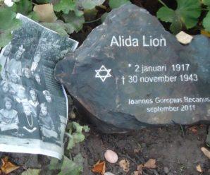 Alida Lion (Hilvarenbeek 1917, Auschwitz 1943)